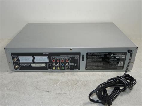 toshiba sd v290 dvd vcr vhs recorder combo player tested