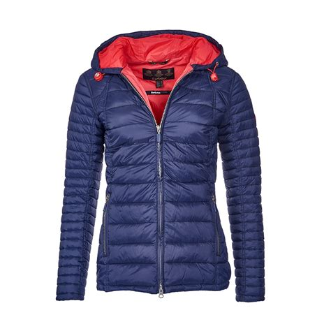 barbour landry baffle quilted jacket barbour