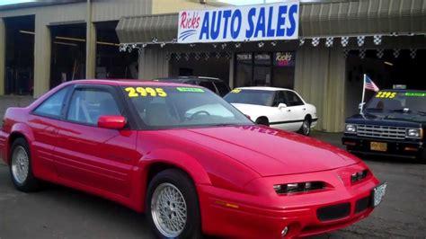 how things work cars 1994 pontiac grand prix engine control 1994 pontiac grand prix se sold youtube