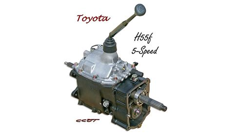 H55f 5 Speed Transmission Toyota