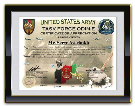 tag army certificate of appreciation certificate of appreciation template search results