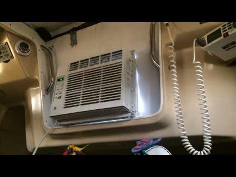 boat air conditioning our 200 boat air conditioning setup youtube
