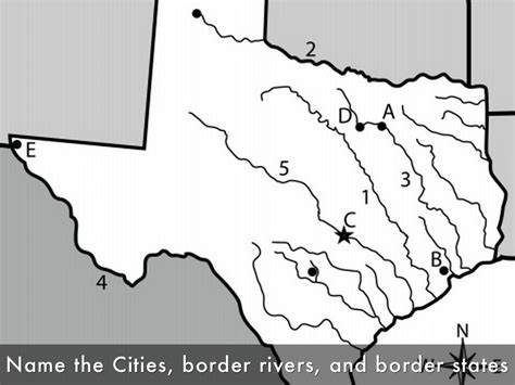 states that border texas map bellringer pretend texas had no and you were