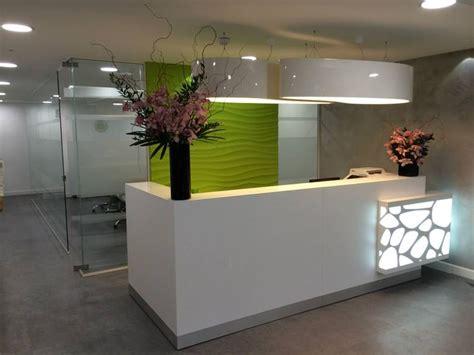 Modern Salon Reception Desk Organic Reception Desk Project In By Gxi Furniture Reception Desks Projects