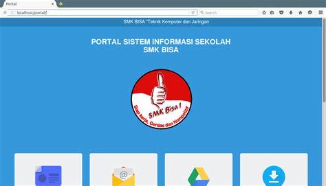 tutorial web portal tutorial membuat portal web di localhost brain learn