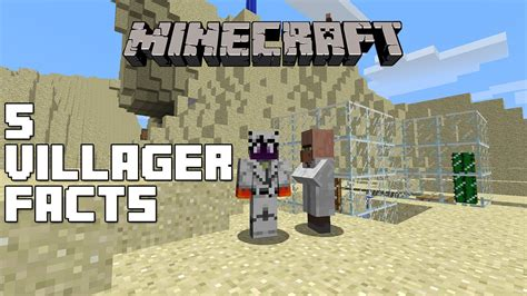 25 Facts You May Not Know About Minecraft Gearcraft - minecraft 5 villager facts you might not know youtube