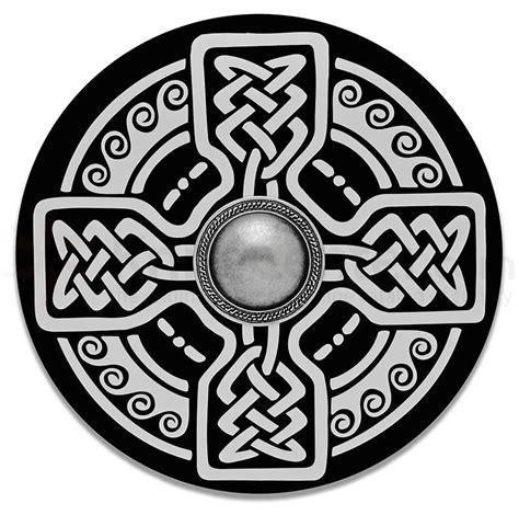 spanish  wooden celtic shield knifecenter ar