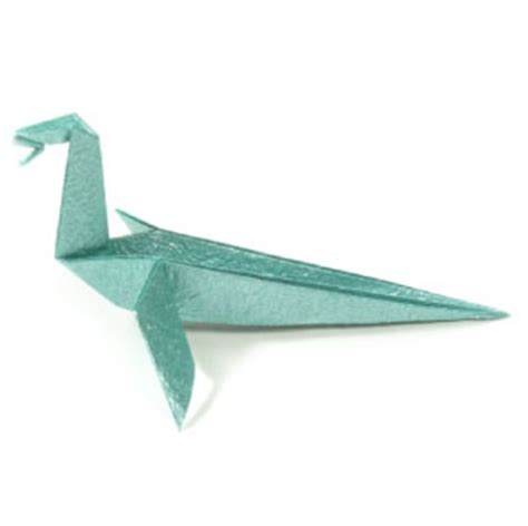 how to make a simple origami dragon: page 13