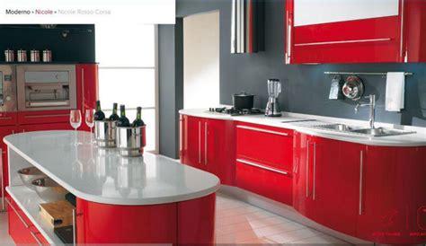 cucina e rossa cucina rossa vi siete innamorati rosso per la cucina