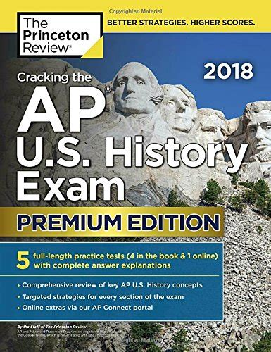 the best 382 colleges 2018 edition everything you need to make the right college choice college admissions guides cracking the ap u s history 2018 premium edition