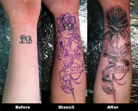tattoo name cover up pics cover up of name tattoo
