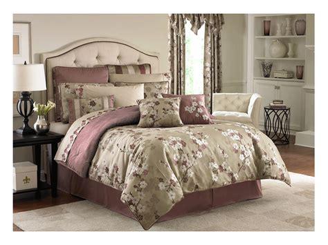 croscill cecelia comforter set king mauve shipped free
