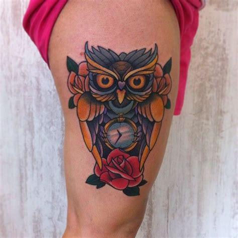 blue owl tattoo on leg tattoo designs pinterest 1832 best images about owl tattoos uil tattoos on