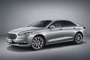 Future Ford Vehicles 2016 Ford Taurus China Front Three Quarters Photo 37