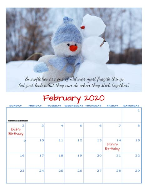 personalized calendar  printable calendars