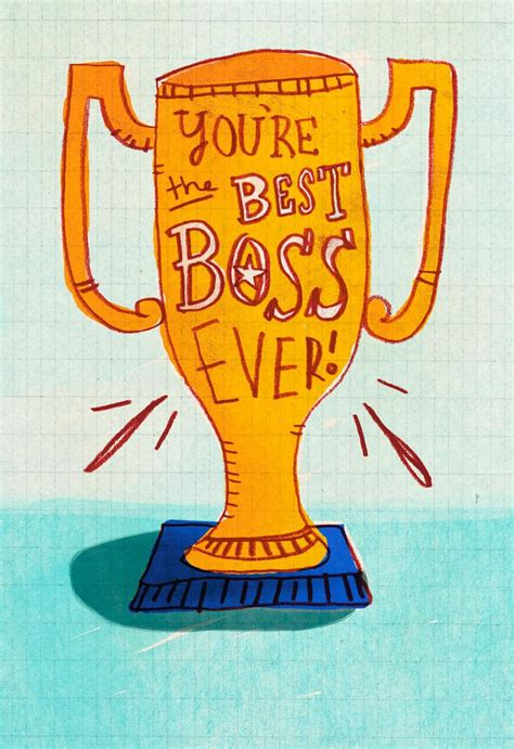 Best Boss A Rd Funny Bosss Day Card Greeting Cards