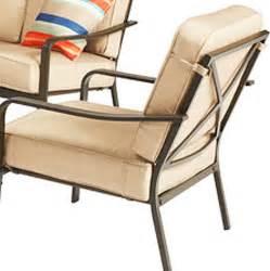 Crossman conversation set replacement cushions garden winds