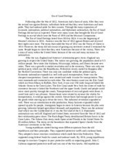 Era Of Feelings Essay by Reconstruction Outline Reconstruction Essay Outline The Reconstruction Era Is The Common Name