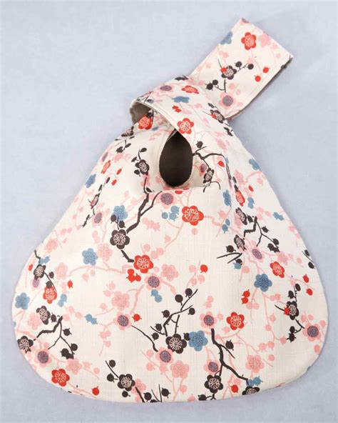 pattern for japanese knot bag reversible purse japanese knot bag project projects and