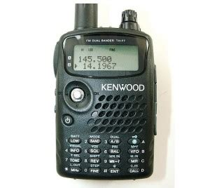review of the kenwood th f6 handheld radio