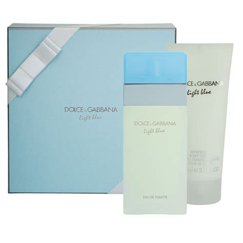 dolce and gabbana light blue gift set for buy dolce gabbana light blue 50ml 2 gift set
