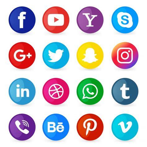 imagenes de redes sociales en hd conjunto de iconos de redes sociales descargar vectores
