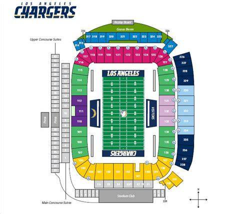 san diego charger seating chart los angeles chargers season tickets theticketbucket