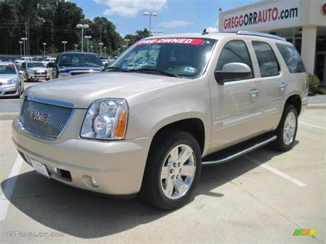 2007 gold mist metallic gmc yukon denali awd 32535165 gtcarlot car color galleries