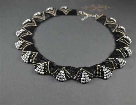 sale ooak black silver necklace 3d necklace