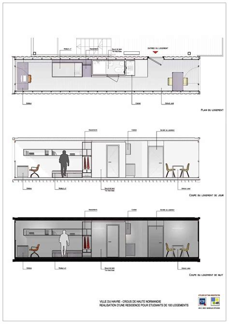 container office layout plan cit 233 a docks student housing best of shipping