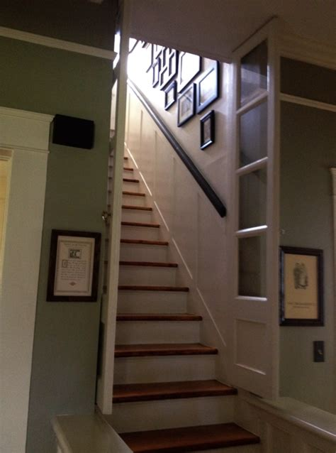 stairway door erin s craftsman cottage in laurel mississippi 1