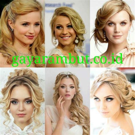 Model Rambut Untuk Pesta by Elegan Model Rambut Pesta Untuk Wanita Wajah Bulat