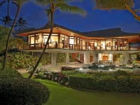 hawaii home designs oceanfront residence in hawaii displaying a creative