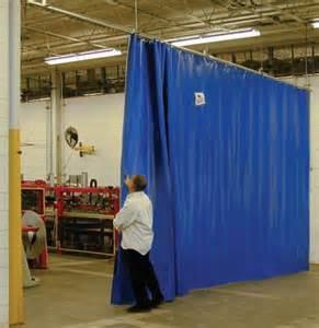 Commercial Room Divider Curtains - strip doors weld screens curtains matrix material handling inc