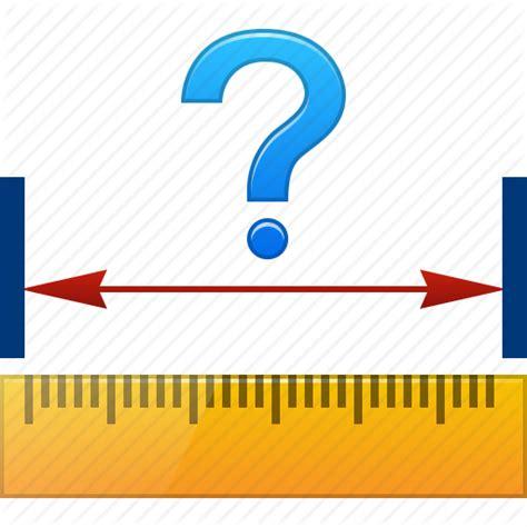 design icon size centimeter length measure measurement ruler size