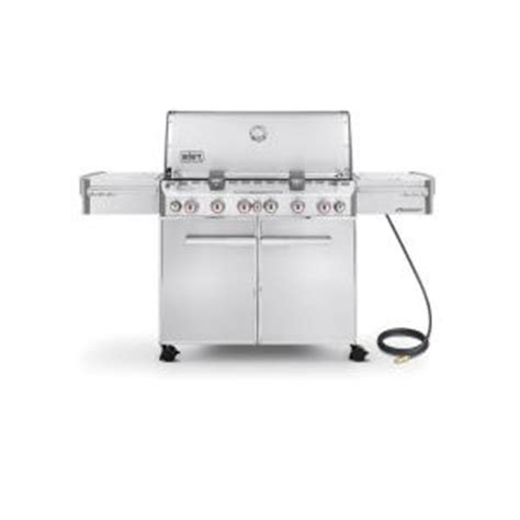 weber summit s 670 6 burner gas grill in stainless