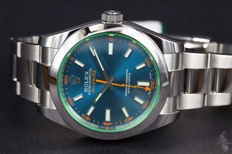 Rolex Milgauss Blue rolex milgauss blue 116400gv the horophile