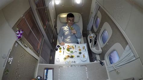 emirates youtube first class review emirates new first class suite on b777 300 er