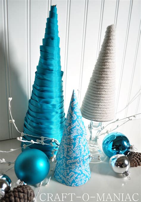 diy christmas tree cones craft o maniac