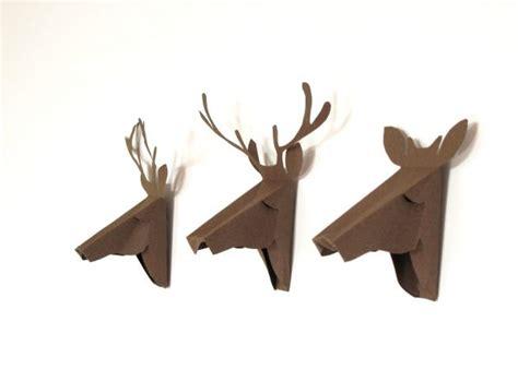 Deer Origami - faux deer home decor