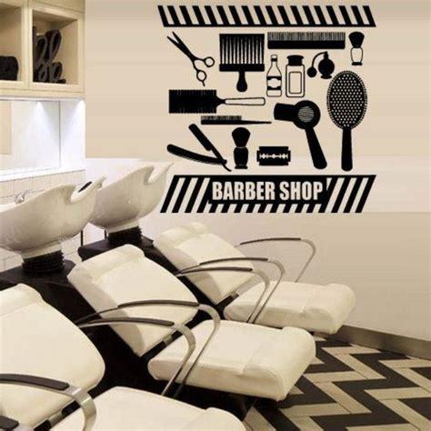 Hair Dryer Untuk Stiker dekorasi salon dan barbershop menggunakan mural dan stiker
