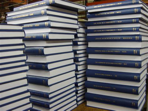 theses and dissertations binding theses
