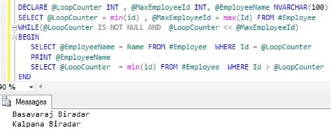 Sql Loop Through Table by Looping Through Table Records In Sql Server Sqlhints