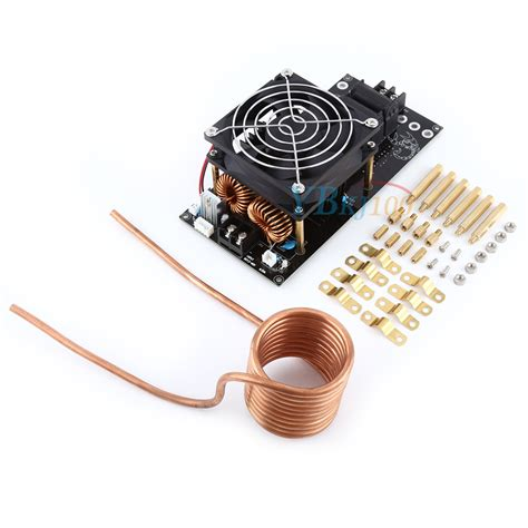 induction heater kit ebay dc12 36v 1000w 20a zvs induction heating board module heater diy kit assembled ebay