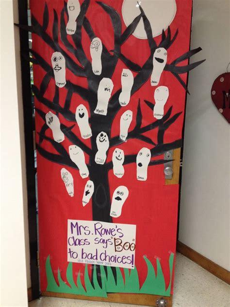 ribbon week door decorations kdg class
