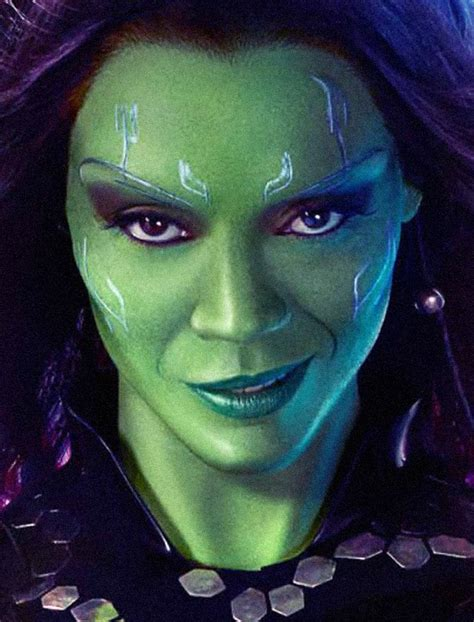 guardians of the galaxy makeup tutorial gamora transformation