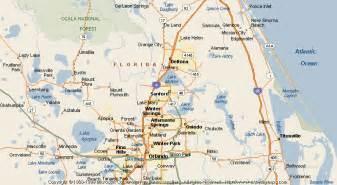 map of sanford