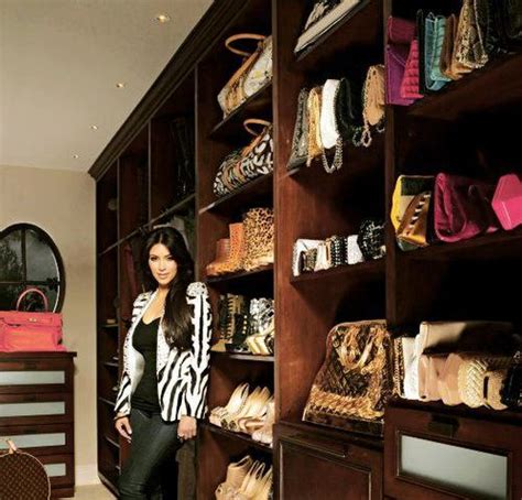 Kardashians Closet by Closet Envy Drool Some Of The Best Walk In Closets