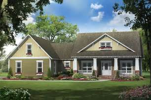 One Story Craftsman Style Homes by Craftsman Style House Plan 4 Beds 2 5 Baths 2100 Sq Ft