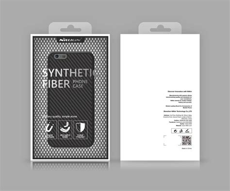Iphone 7 Nillkin Synthetic Fiber Series Protective Hitam T1910 nillkin synthetic fiber series protective for apple iphone 7